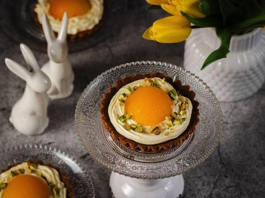 Süße Spiegeleier-Tartelettes | Oster-Rezept