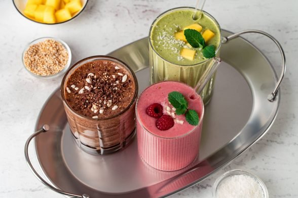 Protein Smoothies auf 3 Arten