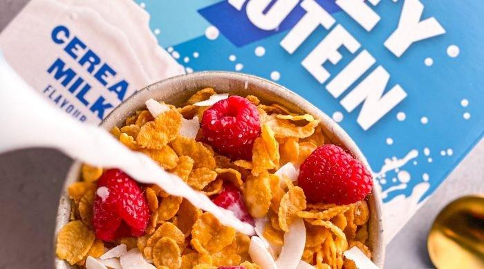 Dominiere den Morgen mit unserem Coffee Boost Whey & Cereal Milk