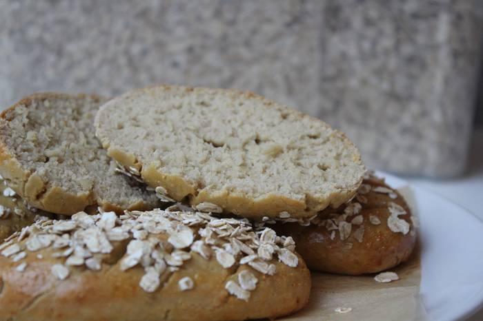 Kalorienarme Zimt-Haferbrötchen