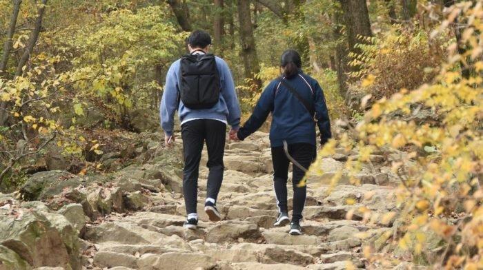 Das Spazierengehen mit einem Partner könnte dich langsamer machen – verrät neue Studie