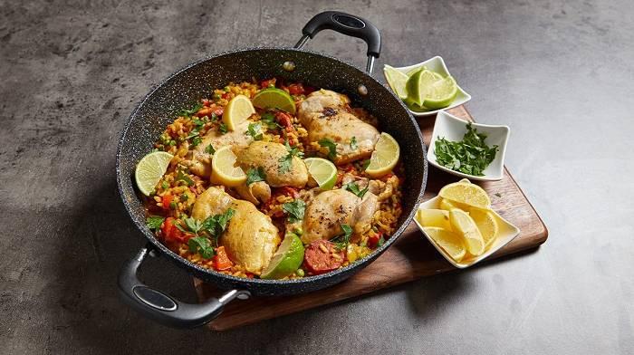 Hähnchen & Chorizo Paella