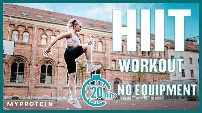 20 Minuten HIIT Workout ohne Equipment mit Lisa