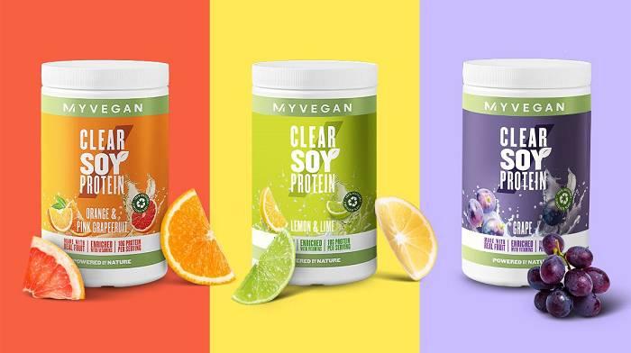 Das weltweit erste Clear Soy Protein ist jetzt erhältlich | Soja wird jetzt fruchtig