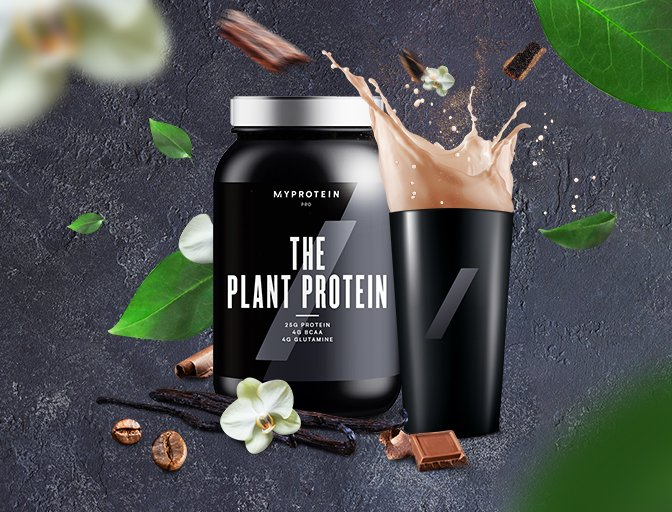 THE Plant Protein: An Ultimate Gamechanger For Pure. Plant. Power.