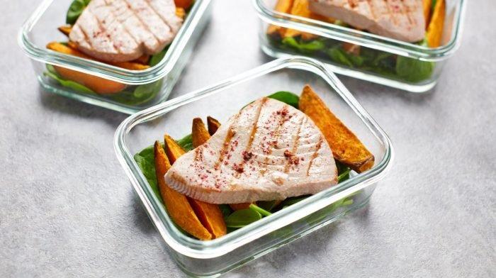 Tuna Steak Recipe Ideas   Seared Tuna & Sweet Potato Meal Prep
