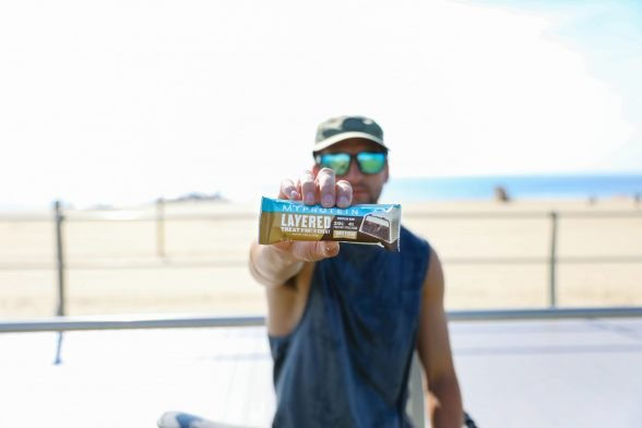 The Perfect On The Go Protein Source | Snack Guilt-Free With our Layered Bar