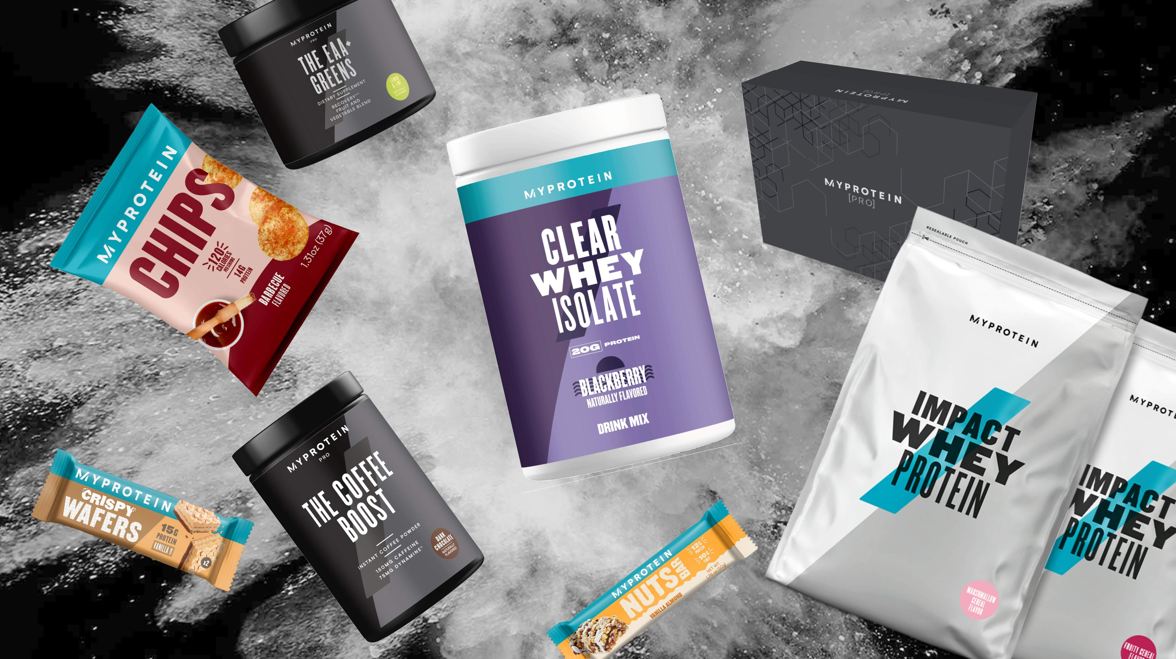 Here's What's New From Myprotein This Black Friday | Protein Bars, Protein Powders, and Superfoods