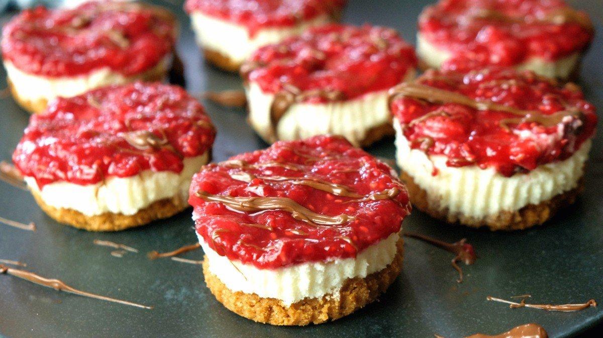 Mini Protein Cheesecakes