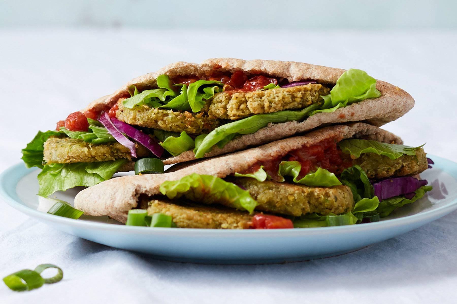Veganer Falafel Döner | 15-Minuten Rezept