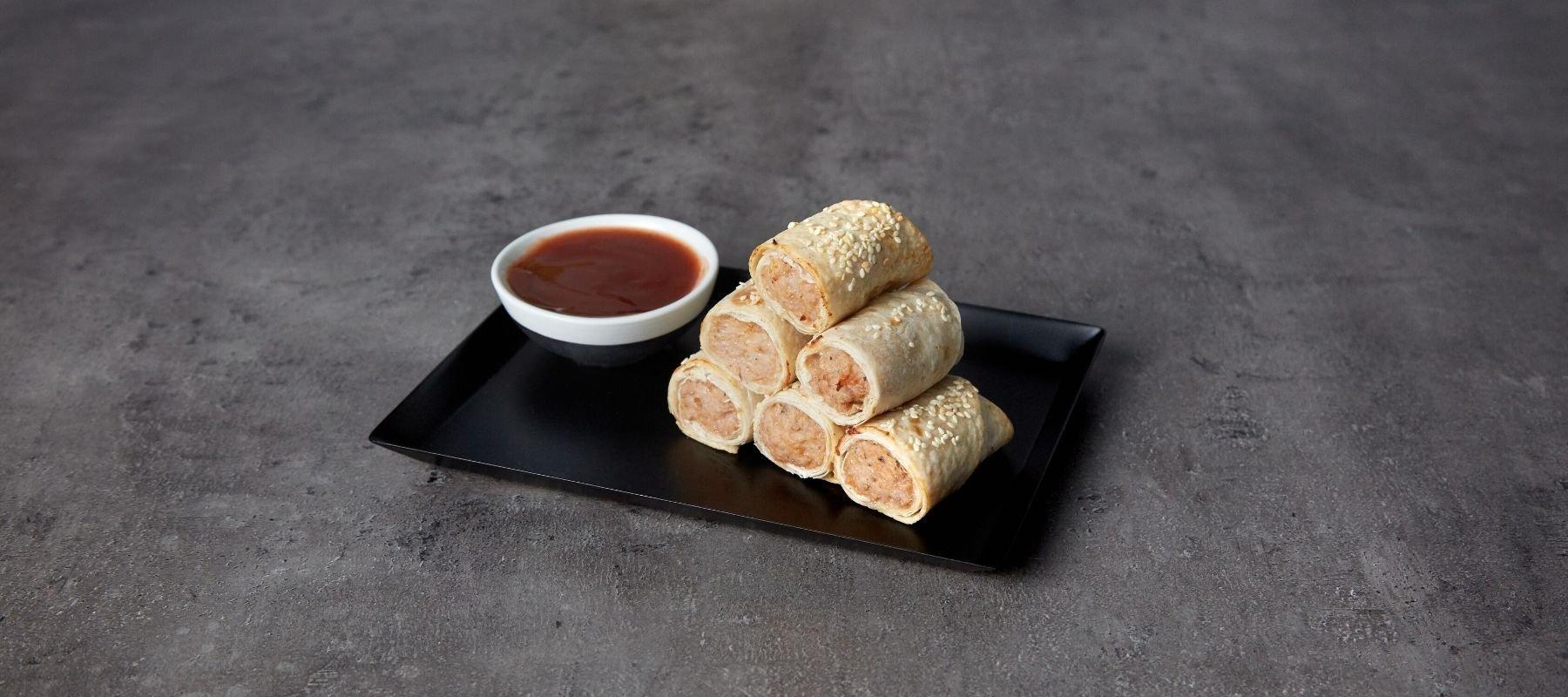 Gesunde Sausage Rolls | Festliche Snacks
