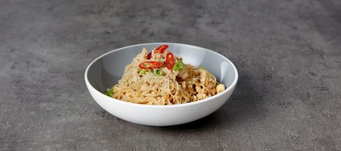 Low-Carb Bang Bang Puten Nudeln | Festliche Meal Prep