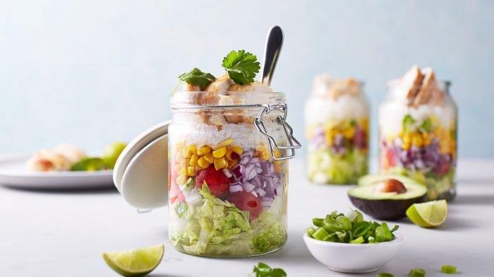 Low Carb Burrito Weckgläser | Meal Prep für 4 Tage