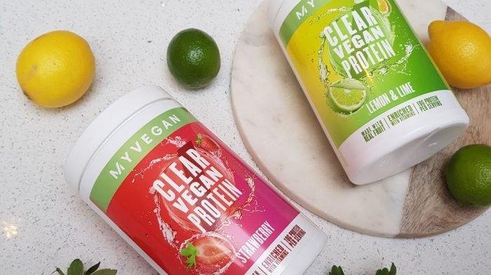 Clear Vegan Protein – Eine Weltneuheit  | Erfahre mehr über unseren neuen, fruchtigen Drink