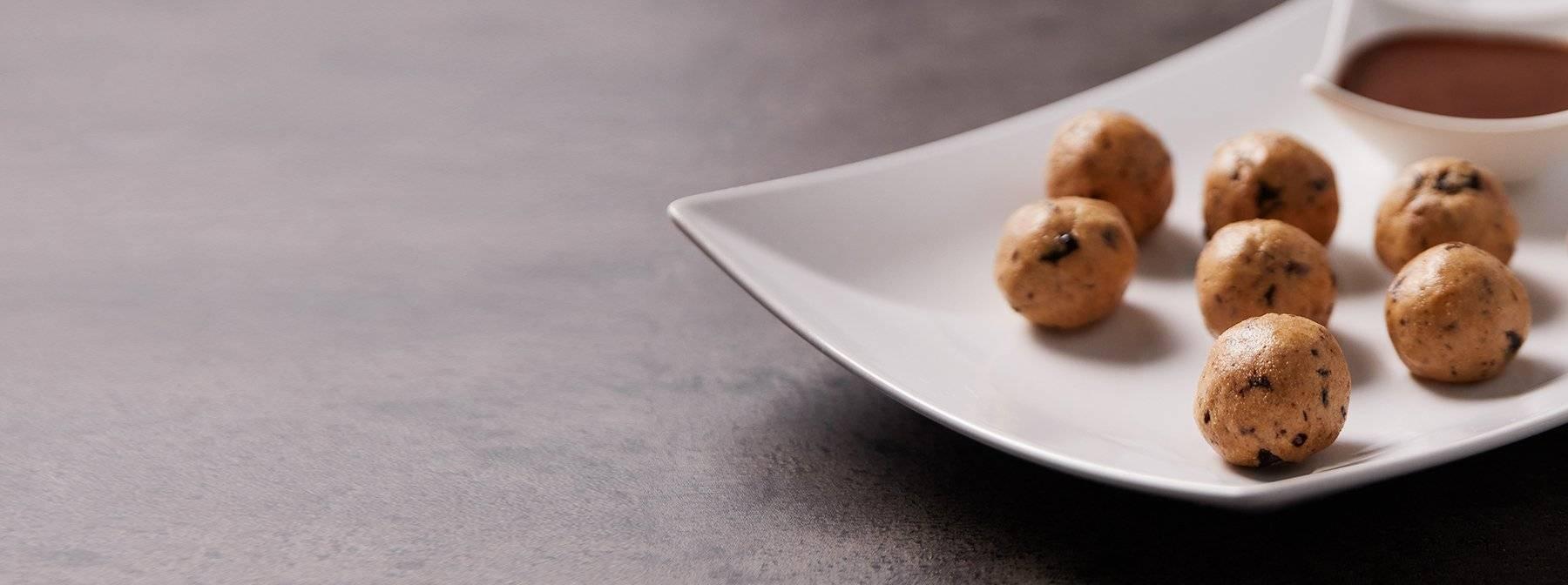 Peanut Butter Cookie Dough Bites | Gesunde, proteinreiche Snacks
