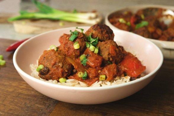 Chilli Con Carne mit Fleischbällchen