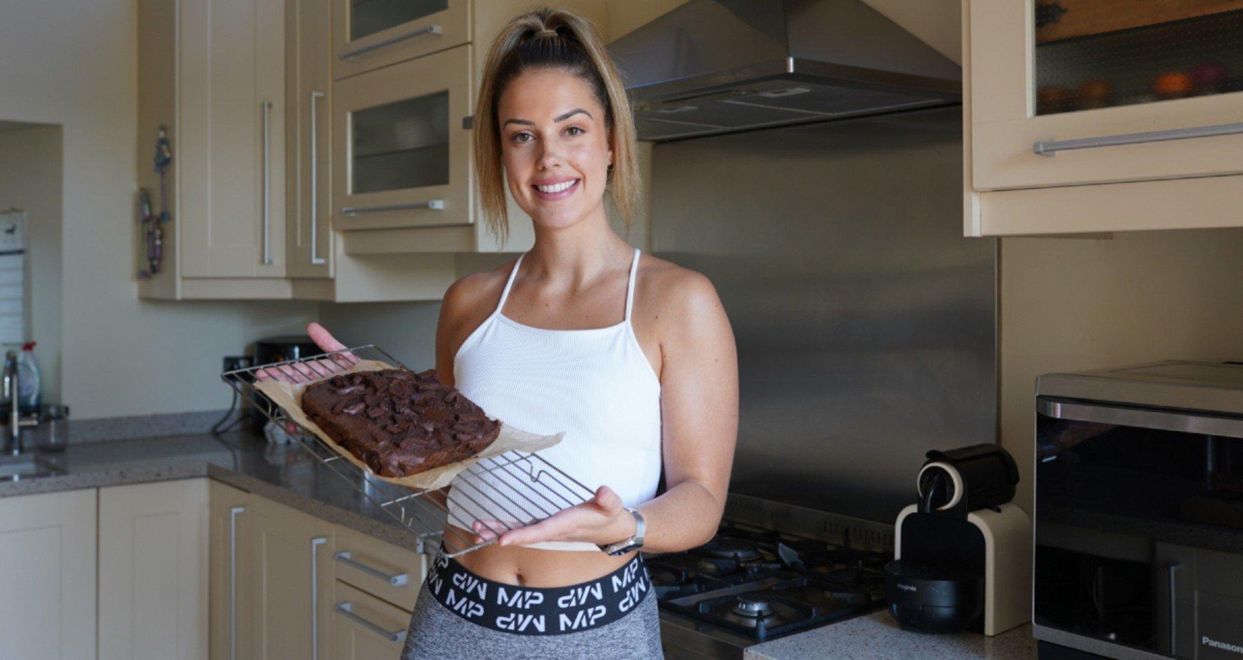 Gesunde Brownies | Proteinreiche Black Bean Brownies