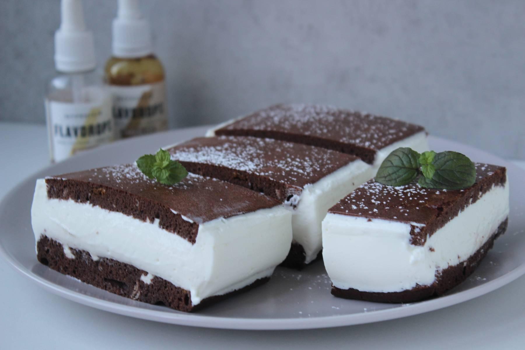 Low Carb Milchschnittenkuchen | Ein traumhaftes Dessert
