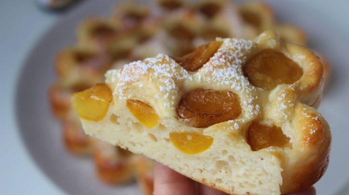 Proteinreicher Pflaumen Kuchen