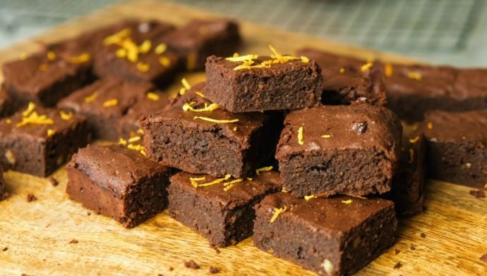 Schoko-Orangen Brownies