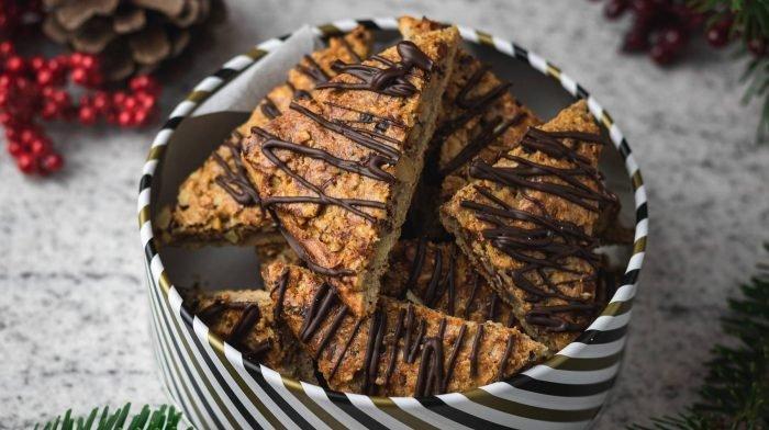 Protein Nussecken | Kalorienarmer Snack