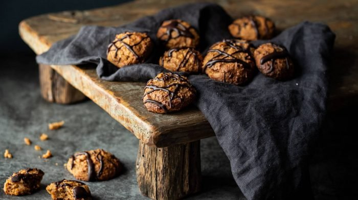 Süßkartoffel Protein Kekse | Gesunde Snacks für Zwischendurch
