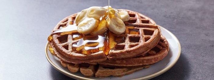 Marino Katsouri's Protein Waffeln   Ein köstliches Frühstücks-Rezept