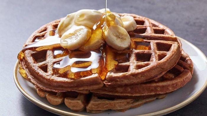 Marino Katsouri's Protein Waffeln | Ein köstliches Frühstücks-Rezept
