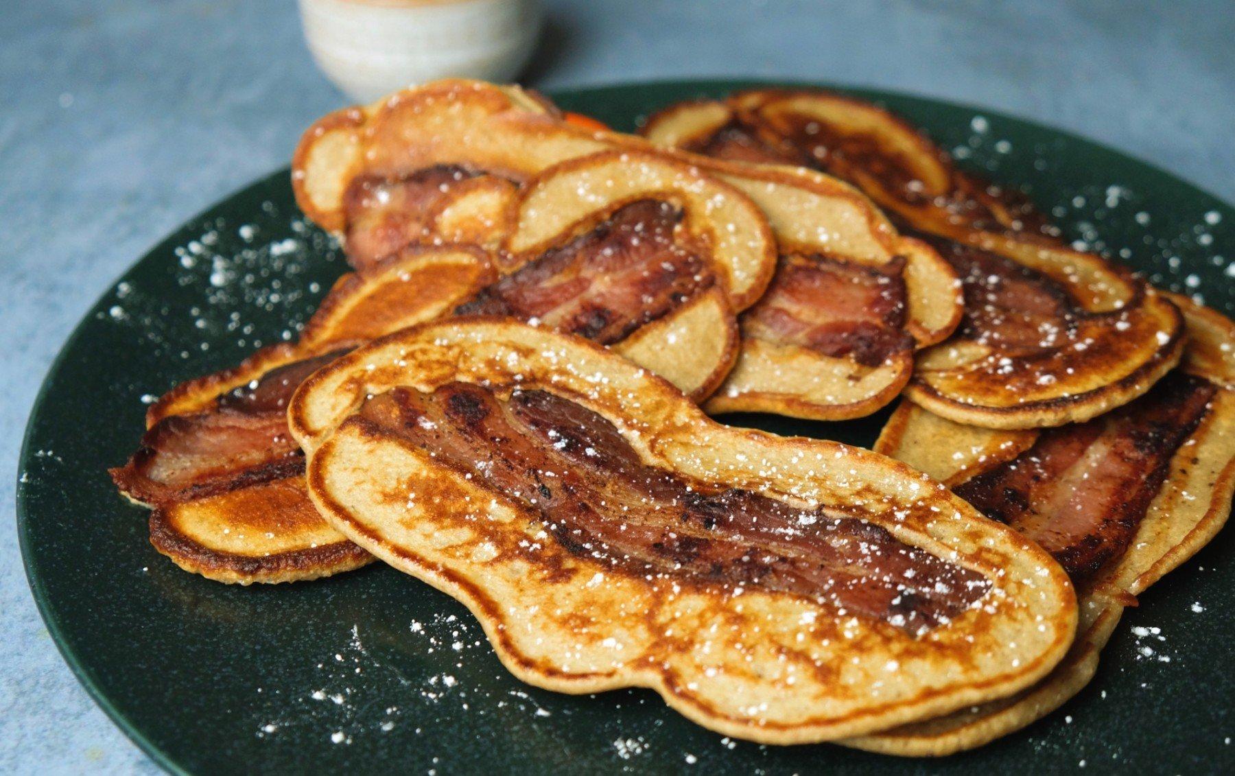Protein Pancake Dipper   Bist du bereit für dieses lebensverändernde Rezept?