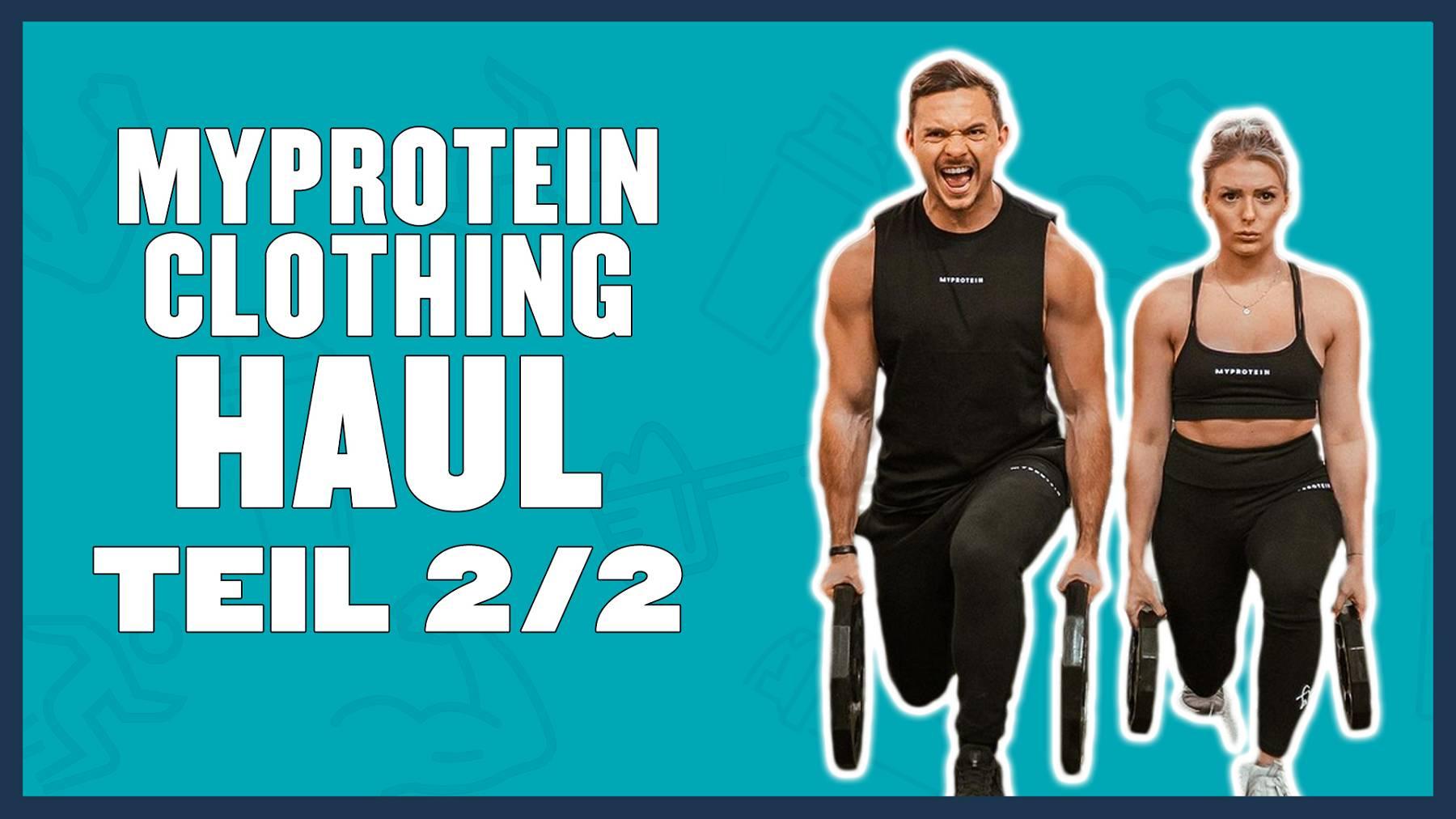 Myprotein Clothing Haul – Teil 2   Top 5 Herren Outfits fürs Training mit Oskar & Mandy