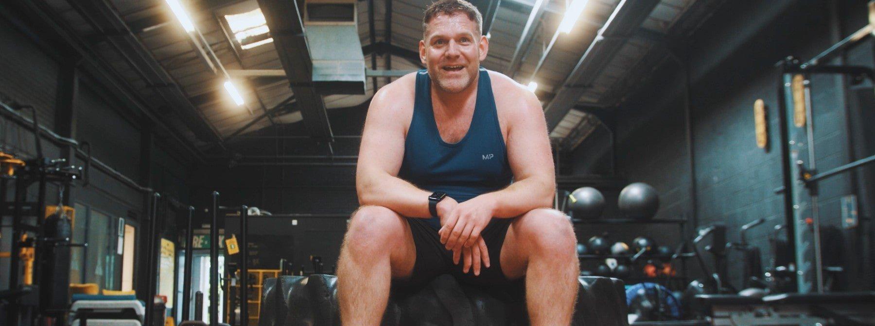 LGBTQ+ Rugby half diesem Mann aus seiner Depression