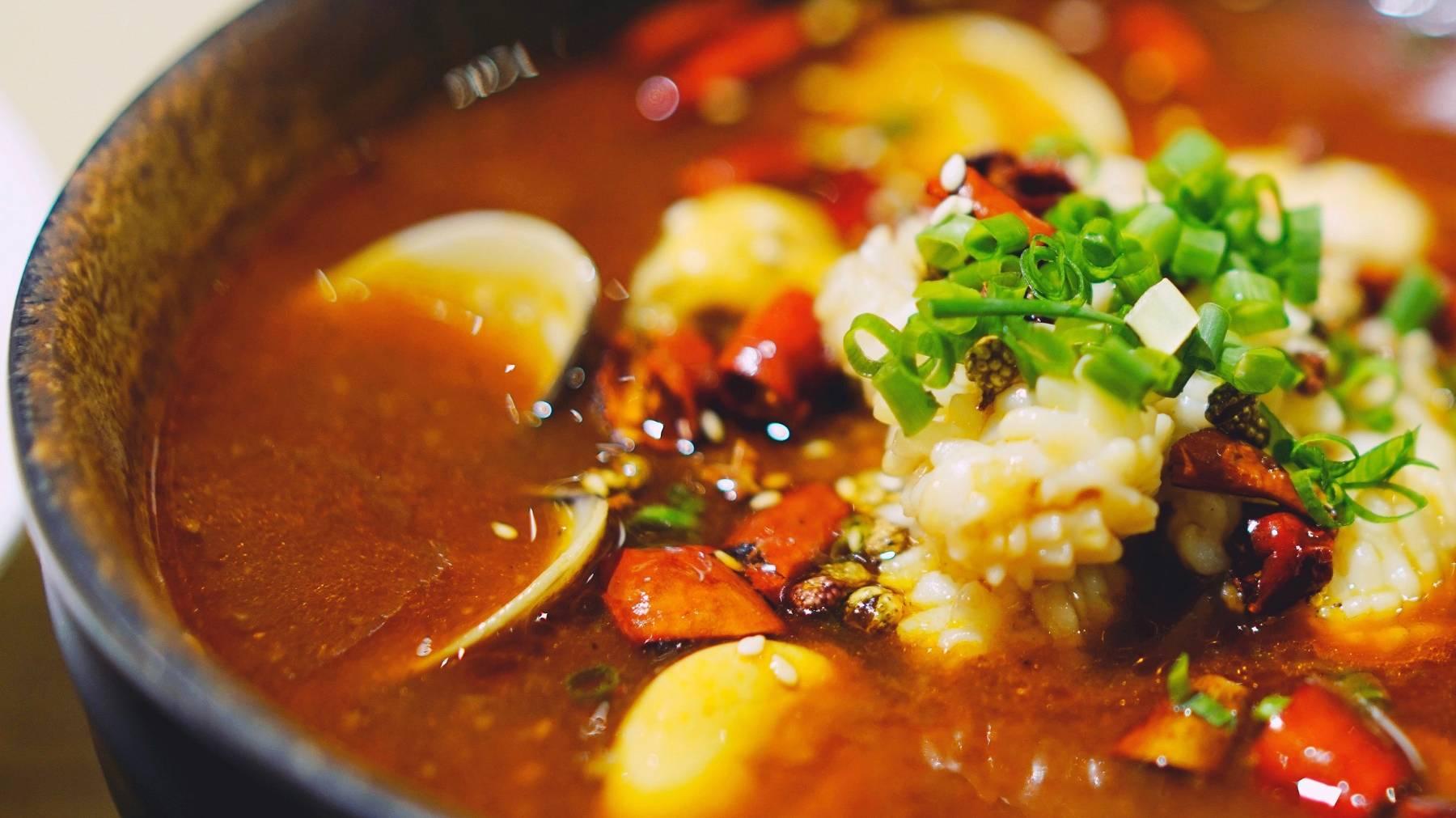 Gemüse Curry Reispfanne