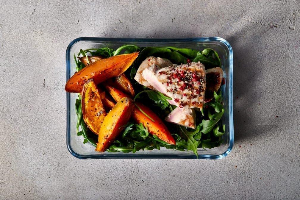 High Protein Low Carb Diäten   Beste Lebensmittel & Meal Prep