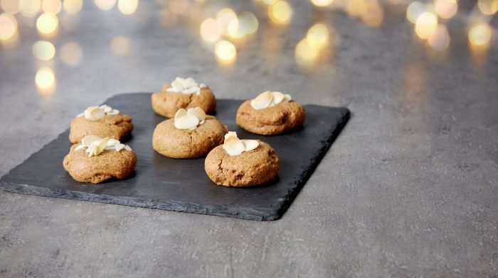 Proteinreiche Zimt Cookies