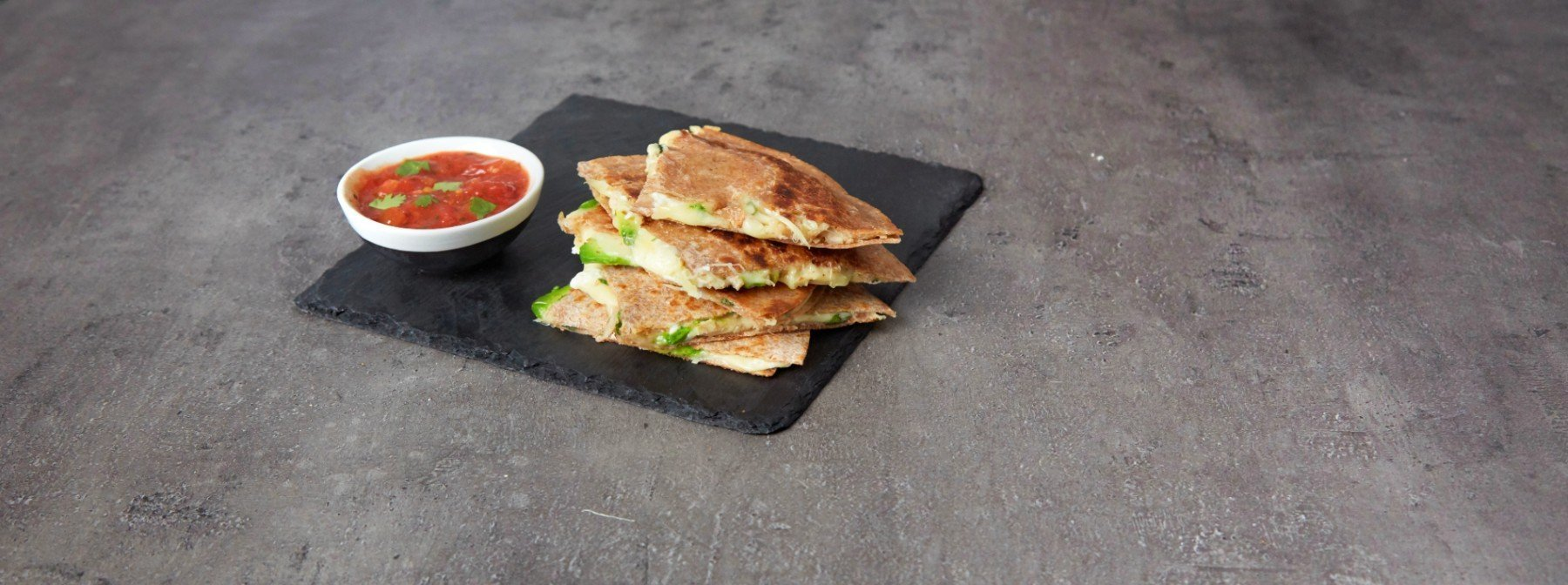 Herzhafte Puten & Avocado Quesadillas