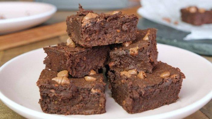 Süßkartoffel Brownies mit nur 5 Zutaten | Ganz ohne Mehl