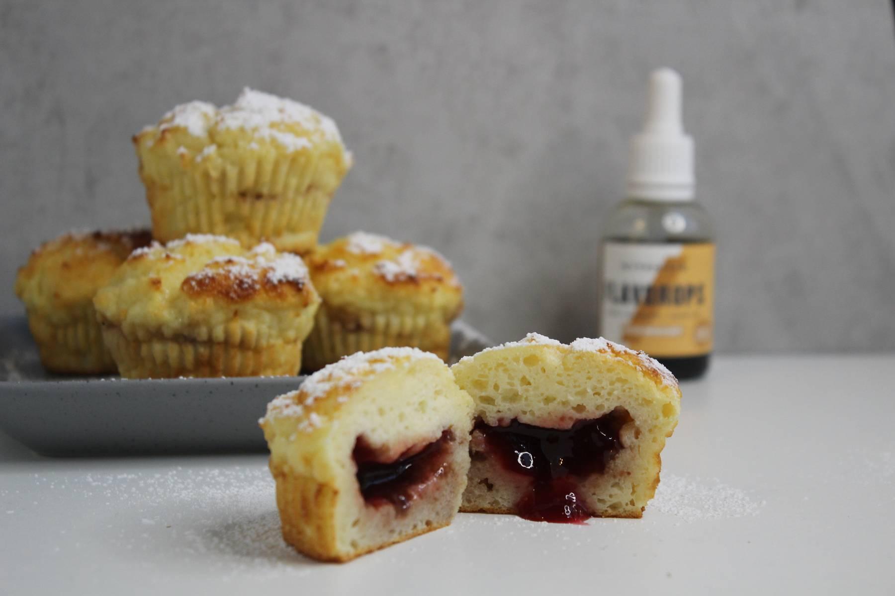 Süße Berliner Muffins zum Selbermachen