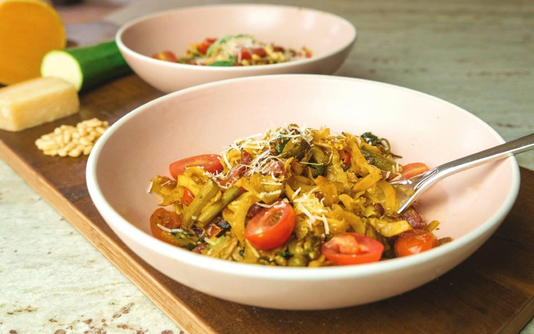 2 Pasta Alternativen, auf die du zurückgreifen kannst, wenn die Regale noch immer leer sind