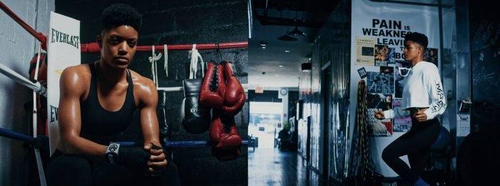 """Wie diese NYC Boxerin ihre Ernährung nutzte, um ihr Karrieretief zu überwinden   Stacia Suttles ist """"Forever Fit"""""""