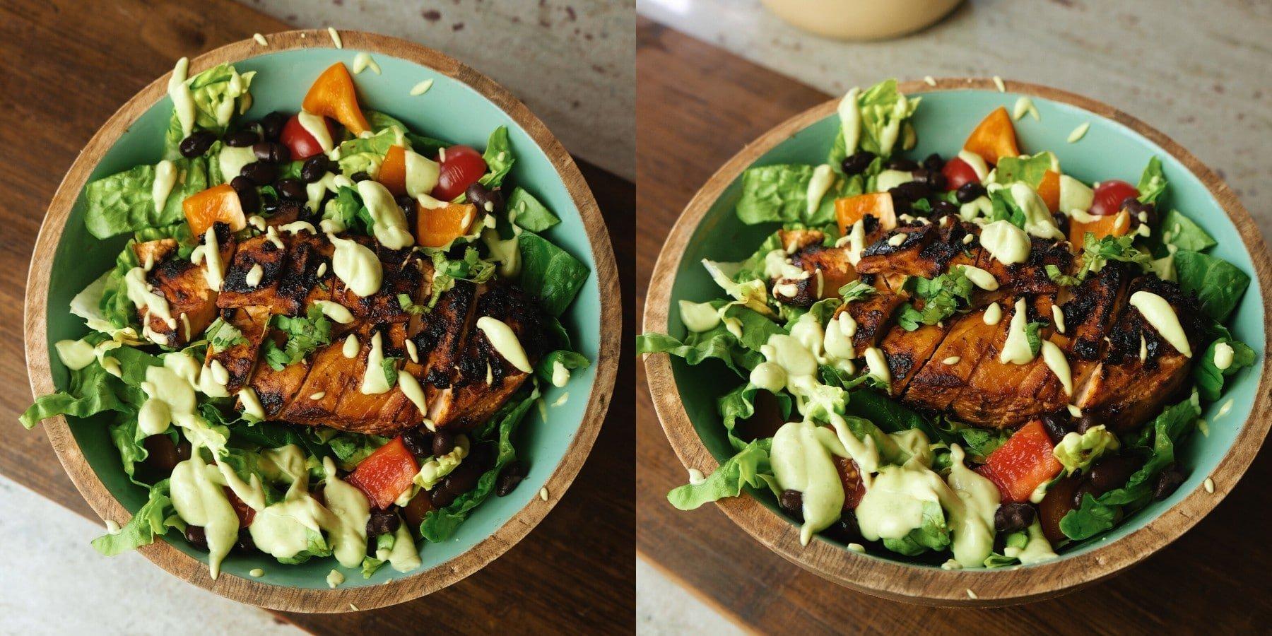 Chipotle Hähnchensalat | Sommer Meal Prep