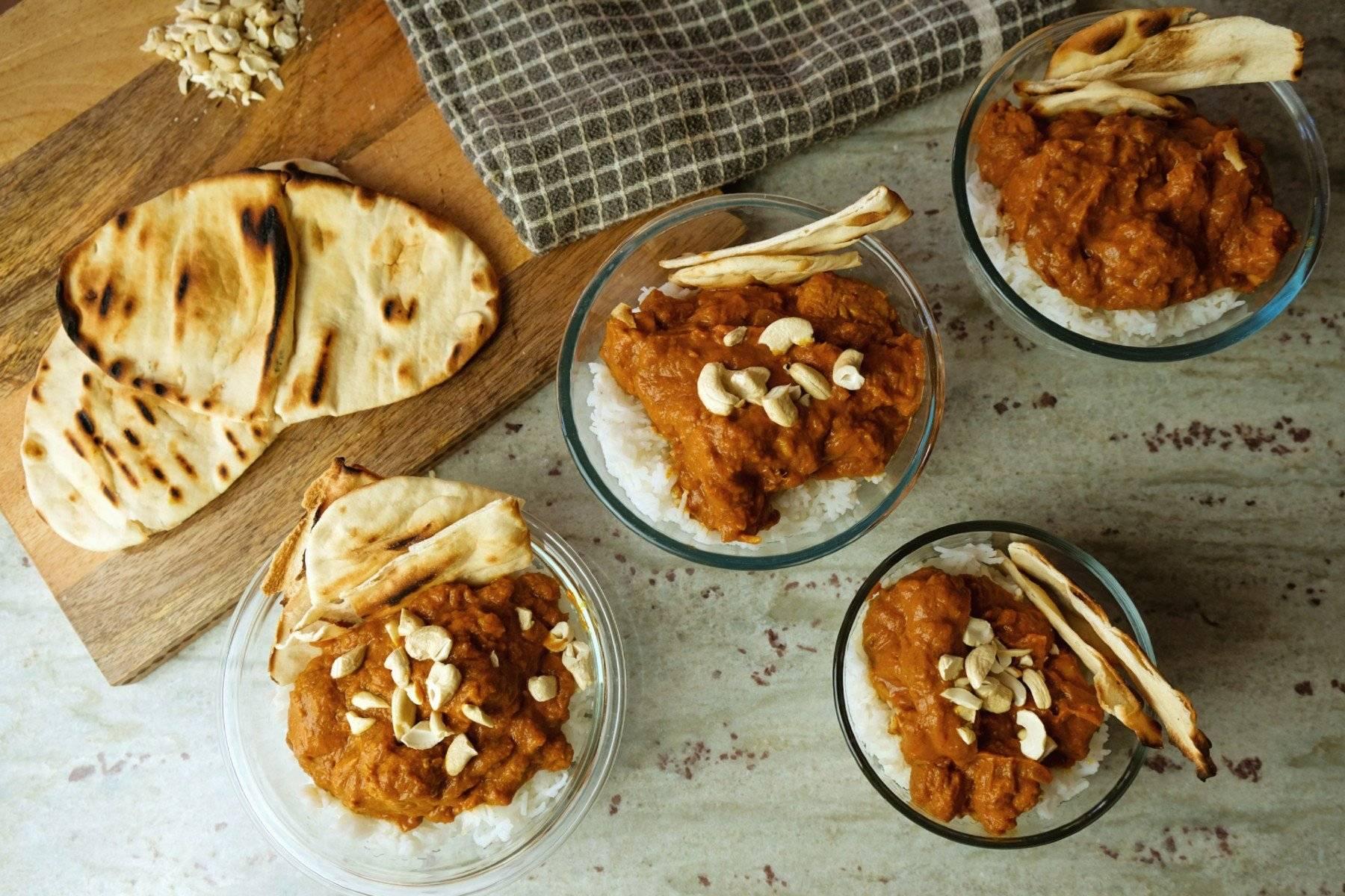 30 Minuten Chicken Tikka Masala Meal Prep