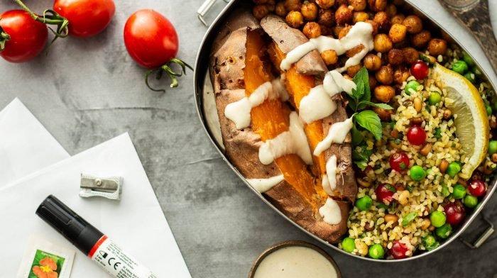 Bulgur Süßkartoffel Meal Prep