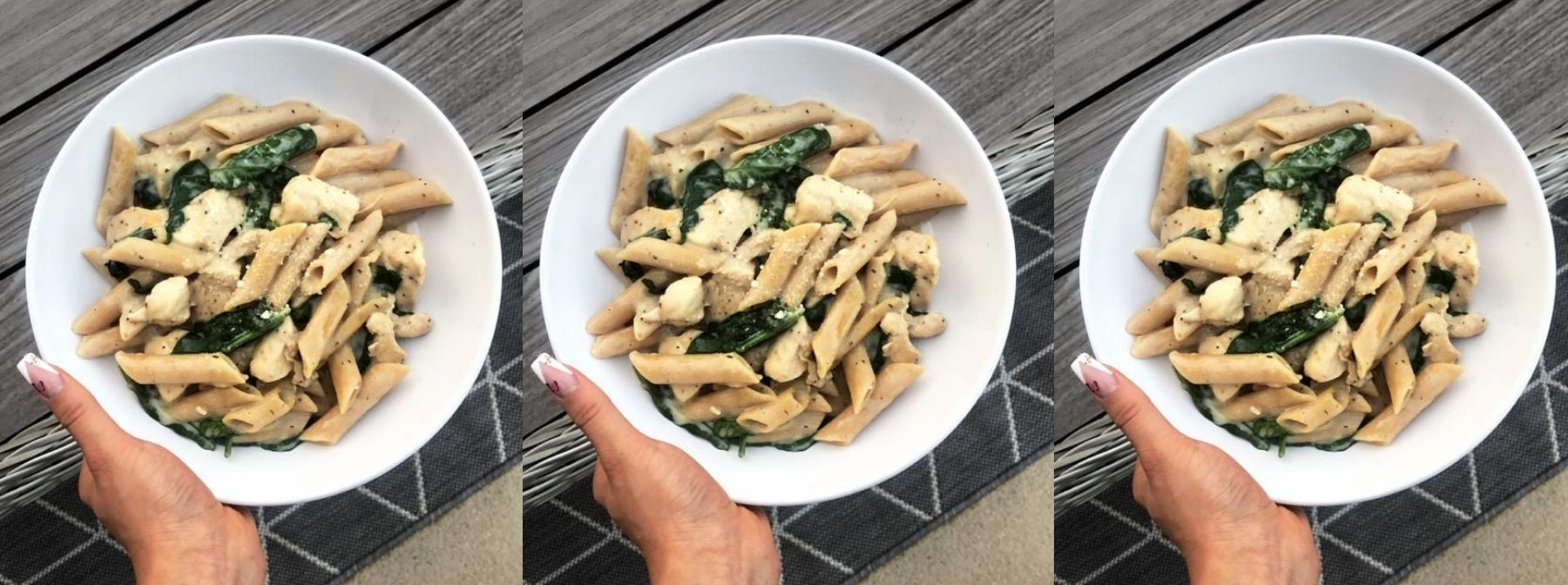 Köstliches Chicken-Alfredo | Gesunde Pasta Rezepte