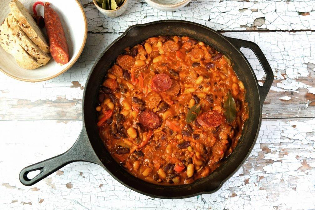 Chorizo & Bohneneintopf
