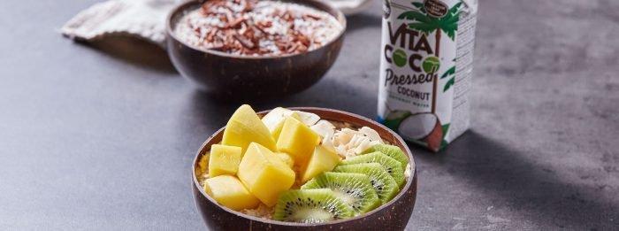 Overnight Oats auf zwei Arten | Vita Coco X Myprotein Kitchen