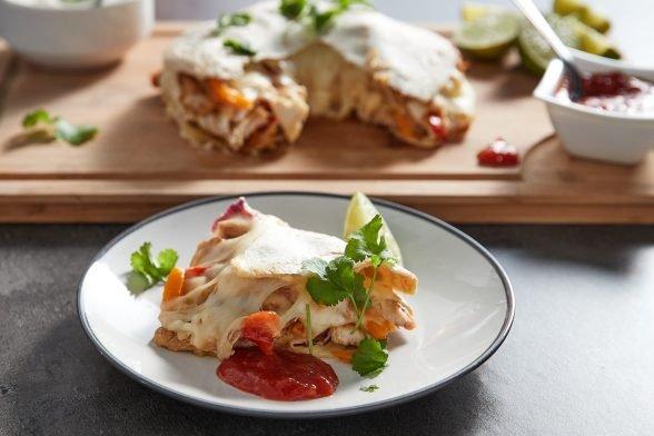Fajita-Kuchen