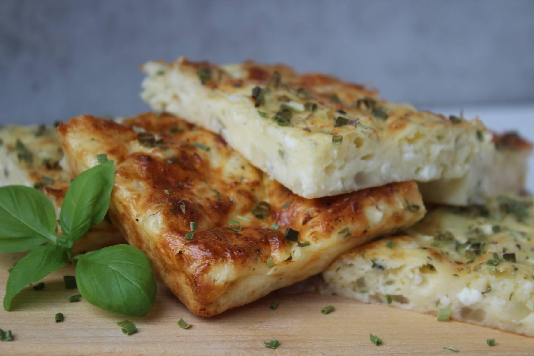 Kalorienarme Käseschnitten | High Protein Snack