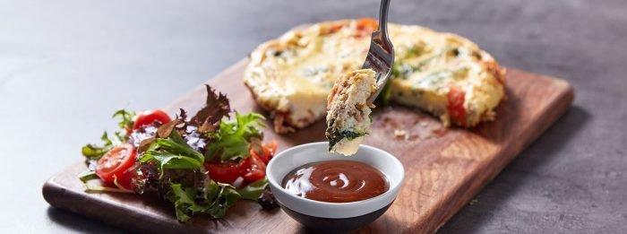 Mike Thurston's Frühstücks-Omelette | Proteinreiches Frühstück