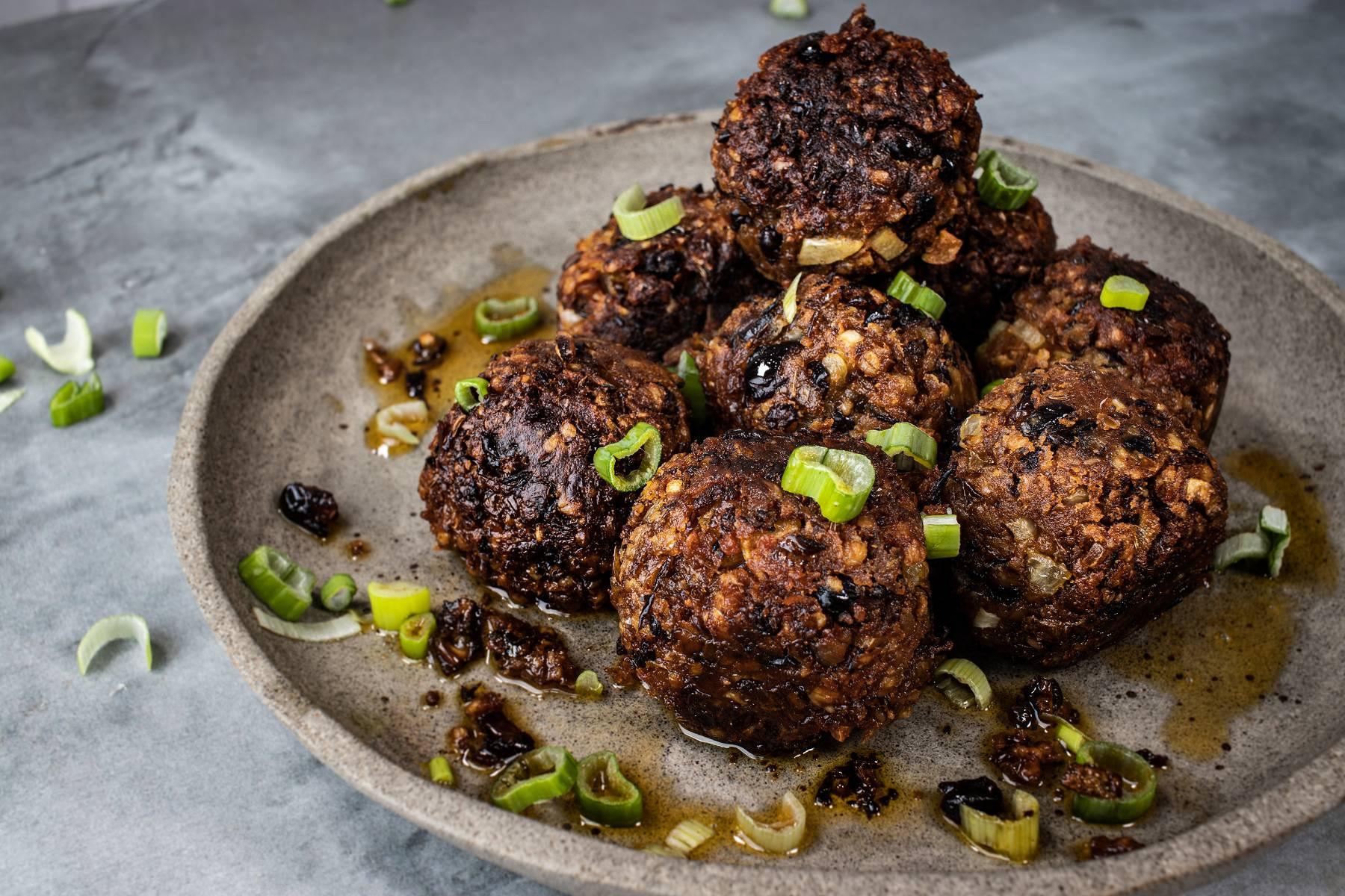 Vegane Protein Fleischbällchen | No Meat Balls