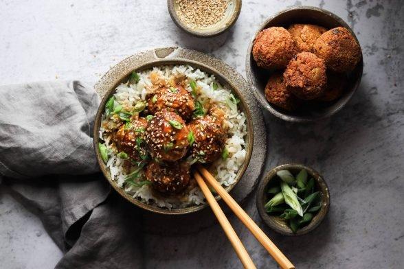 Tofu Sesam Bällchen